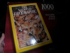 New National Geographic Magazine Cover 1000 Pc Puzzle September 1991 Red Foxes