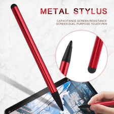 2-in-1 Capacitive Resistive Touch Screen Stylus Pen for iPhone Tablet Phone PC