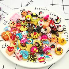 10Pcs Simulation Fast food Rilakkuma Squishy Hard Charms Squeeze Slow Rising Toy
