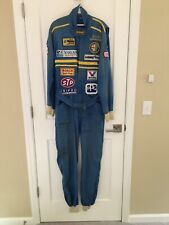 OMP Bertil Roos Nomex Race Suit Blue Well USED Car Auto Kart Racing Suit Size 52