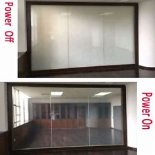 Clear to Opaque Smart Glass Film Self-adhesive Electronic Control Privacy Window