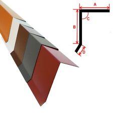 2m Ortgangblech Ortblech Ortgang Dachrand, Dachrandblech, Aluminium Alu FARBIG