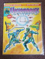 MARVEL VISIONARIES April 1988 #1 Issue Comic