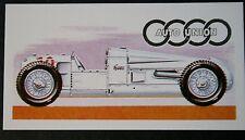 Auto Union 4.3 Litre Super Charged Racing Car    Vintage Card  # VGC