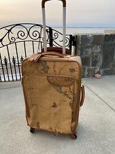 RARE Alviero Martini 1 Classe Globe Italy  Medium Suitcase Trolly Wheels Luggage