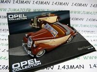 OPE43R voiture 1/43 IXO OPEL collection : SUPER 6 decouvrable 1937/1938