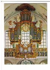 Postcard: Clock and Organ, St Peter, Schwarzwald, Germany