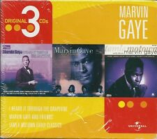 Marvin Gaye (2003) Box 3CD NUOVO I Heard It Through the Grapevine. Unforgettable