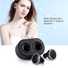 Mini Portable Q800 Earphone Wireless Bluetooth 4.1 Headphone Headset MIC Stereo