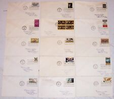 First Day of Issue Postage Stamps 5 6 8 ₵ Cent 1964 1965 1966 1968 70 Collection