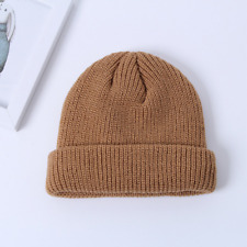 New Women Outdoor Skull Cap Winter Men 15 Colors Beanie Unisex Knitted Hat Warm