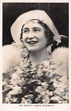 POSTCARD  ROYALTY    Her  Majesty  Queen  Elizabeth        Tuck     II