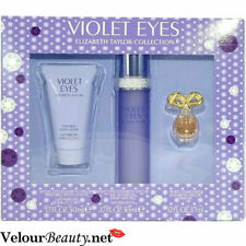Elizabeth Taylor Violet Eyes 3PC Gift Set EDT + Lotion for Women New in Box