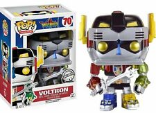 Officially Licensed Voltron Metallic POP Vinyl Convention Exclusive in Protector