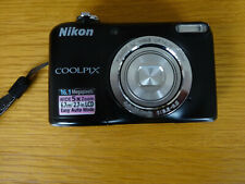 Nikon COOLPIX L27 Compact Digital Camera Black 16.1MP, 5x Optical Zoom with case