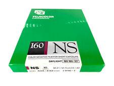 x10 Sheet Fujicolor Fujifilm 160 NS 4x5 102x127mm Color Negative Film From JAPAN