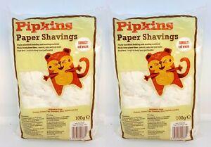 Petsafe Paper Shavings Finely Shredded Pet Bedding & Nesting Material 2  x 100g