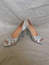 Pour La Victoire Jamison Ivory Satin, Women's Shoes, Size 9.5M