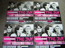 "4 JAM PROMOTIONAL 12""X12"" CARDS - THE SOUND OF THE JAM"
