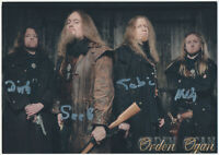Orden Ogan - Metal -  hand signed Autograph Autogramm  Autogrammkarte