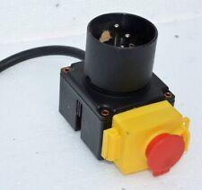 Schalter - Stecker KOA7 Kombination für Holzspalter, Kreissägen 230 V - Wippsäge