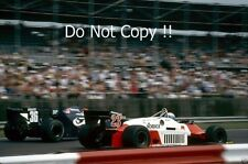 Mauro Baldi Alfa Romeo 183T British Grand Prix 1983 Photograph