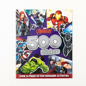 Marvel Avengers: 500 Stickers, Superhero Activity Book