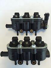 Landirenzo 6 Zyl.Rail Injektor Leiste komplett mit Sensor MED 25-65 schwarz LPG