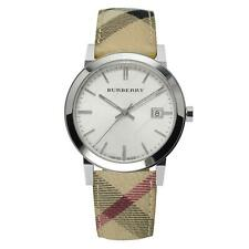 Burberry BU9025 Heritage Leather Swiss Made Womens Watch