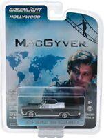 "Greenlight ""MacGyver"" 1967 Pontiac GTO Convertible 1/64 Diecast Car 44840F"