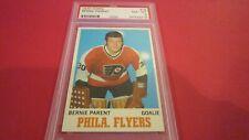 1970 Topps #78 Bernie Parent Flyers PSA 8 - NM/MT