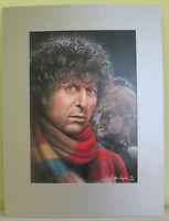 Doctor Who: superb Genesis of the Daleks mounted print, 12/100. Sale4CharityDo.