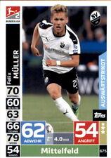 Topps Match Attax Extra 18/19 675 - Felix Müller - 2. Bundesliga