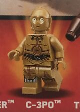 Lego Star Wars Minifigura C-3PO Split del conjunto 75173 Lucas Landspeeder