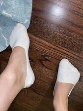 Worn, dirty No Show SOCKS~Women Tiny Feet Size 6~