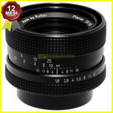 Obiettivo Rollei HFT Planar 50 mm f1,8 per fotocamere Rolleiflex 35mm. Zeiss