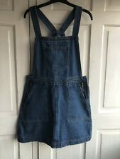 Primark Denim Dungaree Dress Size 14