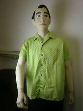 Leco superiore Camicia Uomo Camicia True Vintage Rockabilly 60er manica corta 60s Short a quadri