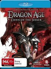 Dragon Age - Dawn Of The Seeker Animated Movie (Blu-ray, 2012) New  Region A&B