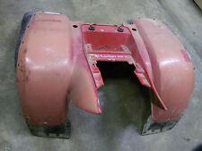 polaris trail boss trailboss 350l rear cab fender red plastic 91 92  250 4x4 93