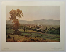 """""""The Lackawanna Valley"""" by Inness, National Gallery of Art Print NGA 11x14"""