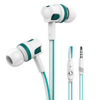JM26 Headphone Noise Isolating In ear Earphone Stereo Sport Headset With Mic D80