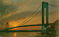 Postcard The Verrazano-Narrows Bridge, New York