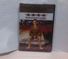 Lost in Translation 2003 Bill Murray Scarlett Johansson 2003 Dvd Region 1