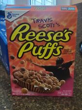 Travis Scott Reeses Puffs Cereal Box BRAND NEW