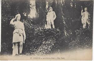 Early 1900's PC Corfu Achilleion Park Unposted