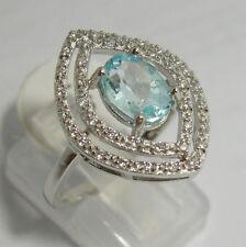 Anelli di lusso topazio Misura anello 14
