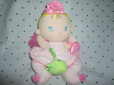 """Fisher Price FAIRY PRINCESS Perfectly Pink12"""" Rattle Soft Toy Stuffed Animal"""