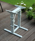 Hubtischgestell - Länge 400 mm - Farbe hellgrau - Hubtisch Tisch Tischgestell