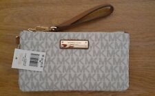Michael Kors Signature Jet Set  Medium Wristlet New with Tags Vanilla